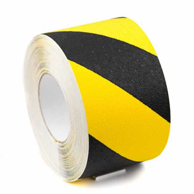 Anti Slip Tape Black Yellow 100mm wide 5 Meters Long