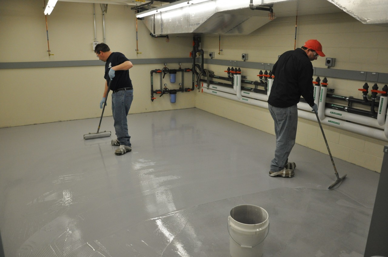 Non Slip Epoxy Coatings