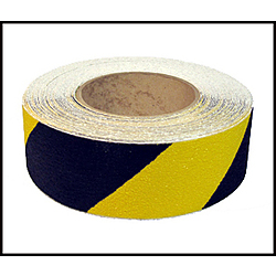 Anti Slip Tape Black Yellow 100mm wide 20 Metres long