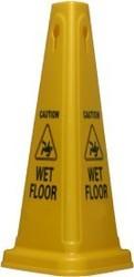Cone Caution Sign