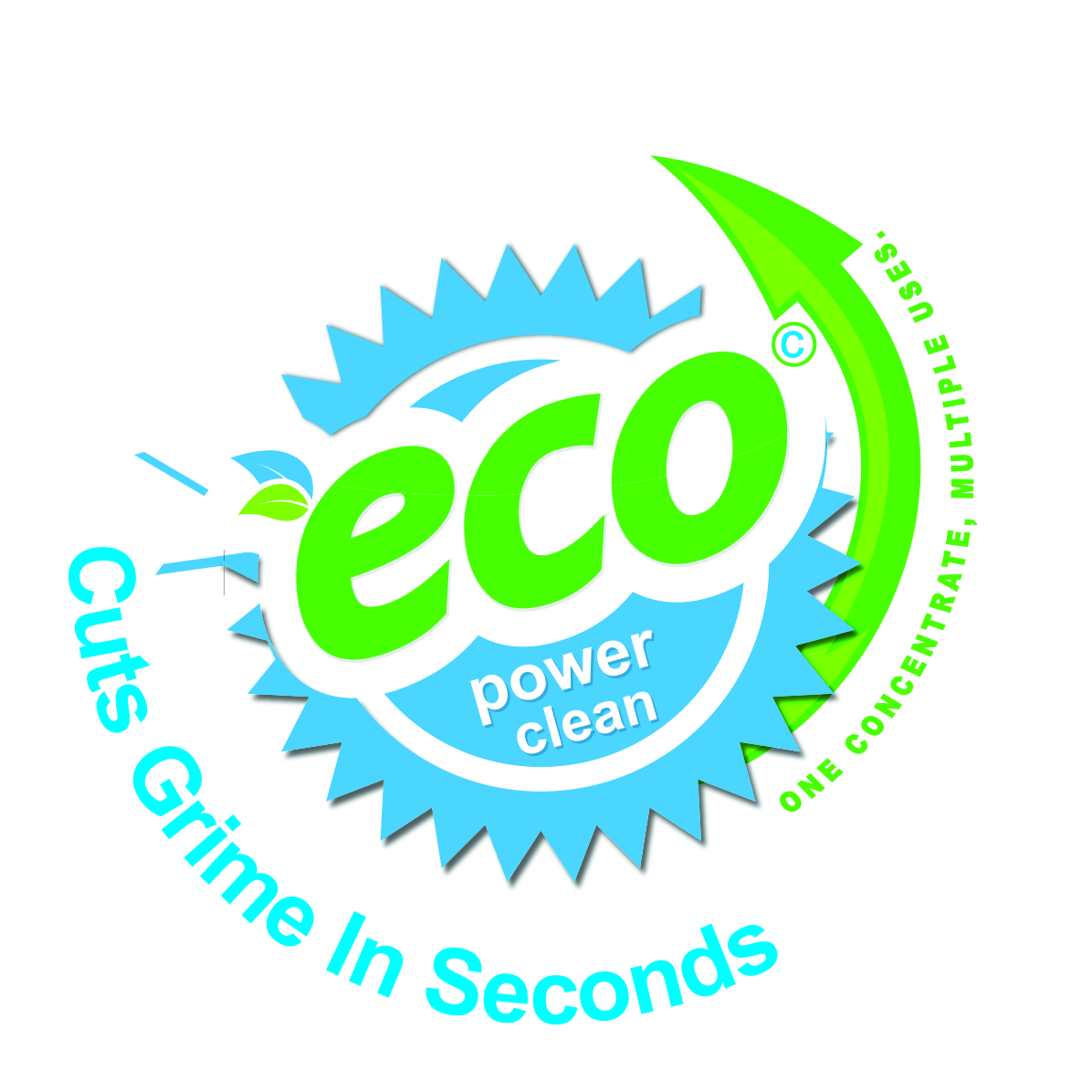 Eco Power Clean - Industrial 200 Litre