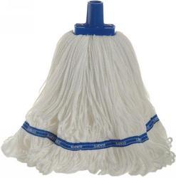 350g Premium Grade Microfibre Round Mop Head Blue