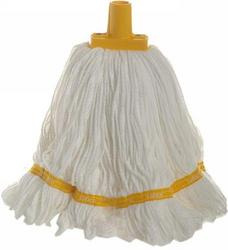 350g Premium Grade Microfibre Round Mop Head Yellow