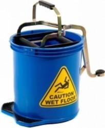 16L Pro Mop Roller Mop Bucket Blue