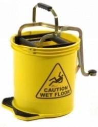 16L Pro Mop Roller Mop Bucket Yellow